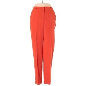 ASOS red trousers